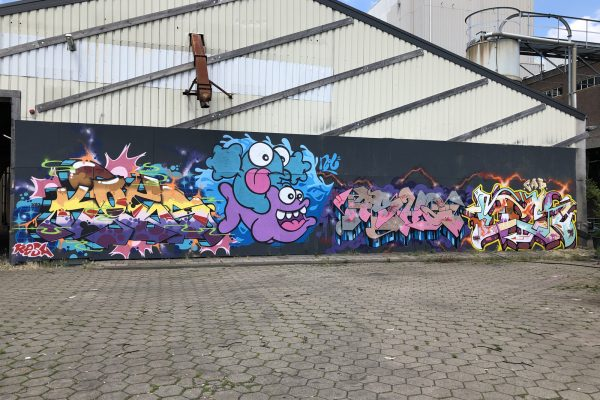 Kings of Colors Festival 2019 - Entrance (23) - Kots & Nolart & ASHQ & Mek