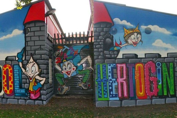 Muurschildering-Bassisschool NHJ Oss (12)
