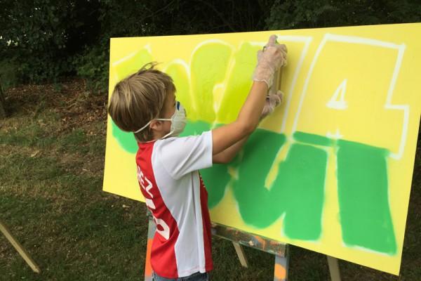 Graffiti workshop 13