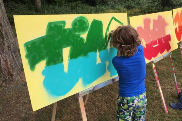 Graffiti workshop 16