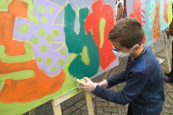 Graffiti workshop 6