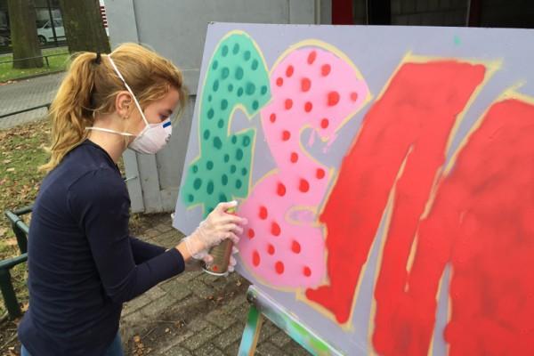 Graffiti workshop 7