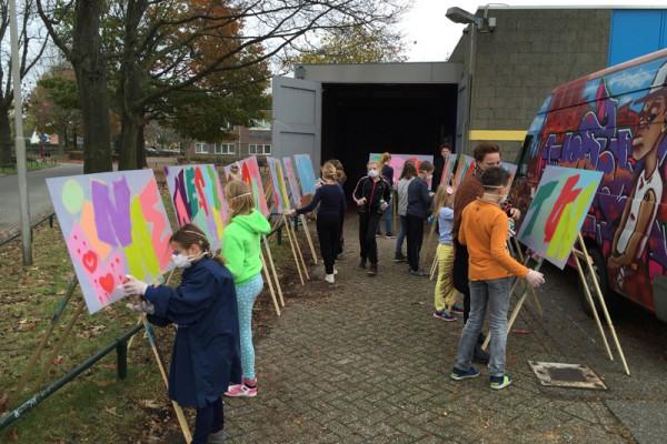 Graffiti workshop 9