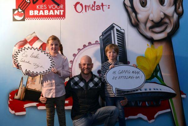 Muurschildering Noord-Brabant (1)