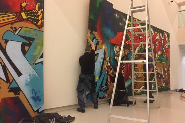 Kings of Colors - Mural Noordbrabants Museum 1