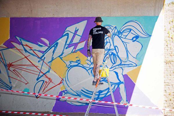 Kings of Colors - Van Herpensweide Mural 1