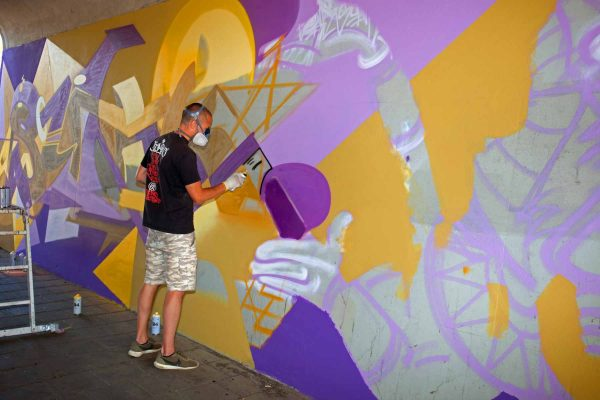 Kings of Colors - Van Herpensweide Mural 3