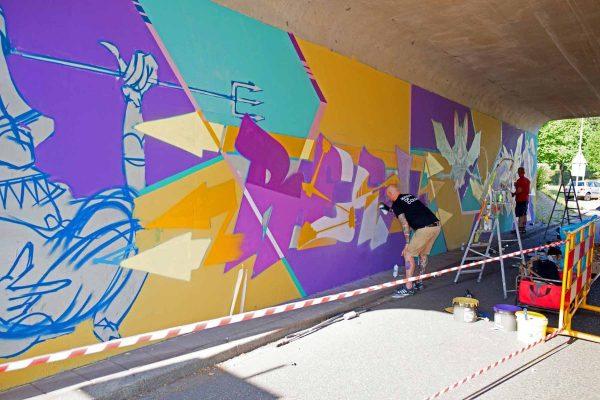 Kings of Colors - Van Herpensweide Mural 5